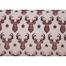 "Pottery Avenue 10"" Embossing Rolling Pin TEXAS REINDEER - LEP-222"