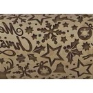 "Pottery Avenue 4.5"" Elegant Christmas Embossing Rolling Pin - SEP-224"