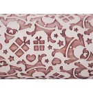 """Pottery Avenue 10"""" Embossing Rolling Pin SANTA'S GIFT - LEP-225"""