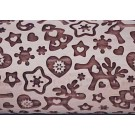"Pottery Avenue 10"" Embossing Rolling Pin HOLIDAY MAGIC - LEP-230"