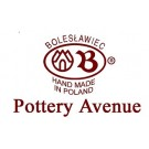 Polish Pottery HERITAGE Large Stoneware Cheese Lady | CLASSIC