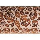 Pottery Avenue Bright Rose Embossing Rolling Pin Pattern