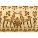 """Pottery Avenue Deer Christmas 10"""" Embossing Rolling Pin Pattern - LEP-032"""