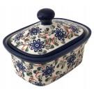 Pottery Avenue Riverbank 2pc Stoneware Butter Box