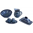 Pottery Avenue 4pc Blue Tulip and Nordic Combo Essentials Kit