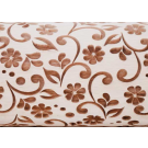 """Pottery Avenue and Wooden Corner brings you these wonderful 4.5"""" embossing rolling pins - SEP-027 DELICATE FLORA"""