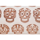 """Pottery Avenue and Wooden Corner brings you these wonderful 4.5"""" embossing rolling pins - SEP-181 DAY OF THE DEAD II"""
