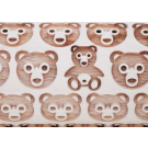 """Pottery Avenue and Wooden Corner brings you these wonderful 4.5"""" embossing rolling pins - SEP-182 BEAR"""