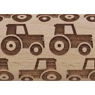 Potty Avenue's quirky little birds on a qire small embossed rolling pin pattern - SEP-202 Truck