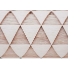 """Pottery Avenue and Wooden Corner brings you these wonderful 4.5"""" embossing rolling pins - SEP-214 PYRAMID"""