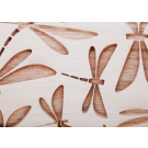 """Pottery Avenue and Wooden Corner brings you these wonderful 4.5"""" embossing rolling pins - SEP-220 DRAGONFLY"""