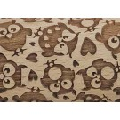"Pottery Avenue 4.5"" Embossing Rolling Pin Patter - SEP-270 ""I Love Owls"""