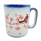 Pottery Avenue 12-oz Stoneware Latte Mug - V055-U340 CARDINAL