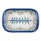 Pottery Avenue Stoneware Boat Platter (SM) - V106-C309 SWISS SEASON