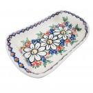 Pottery Avenue Stoneware Boat Platter (SM) - V106-A110 REJUVENATE
