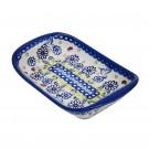 Pottery Avenue Stoneware Flared Dish ((MD) - V107-U464 WINSOME