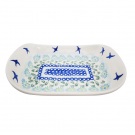 Pottery Avenue Stoneware Flared Dish - V108-C093 SOARING