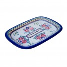 "Pottery Avenue 13"" Stoneware Platter (LG) - V121-U289 SIMPLE FOLK"
