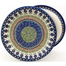 "Pottery Avenue Vena Dance 10.25"" Dinner Stoneware Plate"