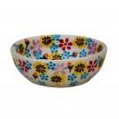 Polish Pottery HARMONIOUS Mini Stoneware Bowl | CLASSIC