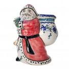 Pottery Avenue Stoneware Santa with Bag - V197-C106 Star Gazer