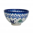 Pottery Avenue SNOWMAN UNIKAT 16-oz Stoneware Rice Bowl - V233-U231 SNOWMAN UNIKAT