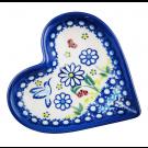 Pottery Avenue Stoneware Heart Plate - V392-U464 WINSOME
