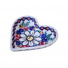 Pottery Avenue Stoneware Heart Plate (SM) - V392-A110 Rejuvenate