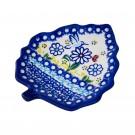 Pottery Avenue 10-inch Stoneware Leaf Plate - V407-u464 WINSOME