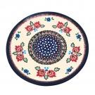"""Pottery Avenue Vena 10"""" Plate - V453-A280 FOLK UNIKAT"""