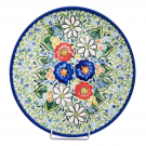 Pottery Avenue 10-inch Stoneware Dinner Plate - V453-A510 EXOTIC
