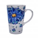 Pottery Avenue Vena Stoneware Travel Mug - V468-A116 AFFECTION