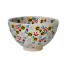 Pottery Avenue Stoneware Rice Bowl-(SM) - V474-C115 HARMONIOUS