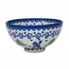 Pottery Avenue Stoneware Rice Bowl-(SM) - V474-A231 SNOWMAN UNIKAT