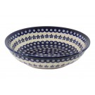 """Pottery Avenue Flowering Peacock 10"""" All Purpose Stoneware Bowl - 1013-166A"""