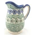 """Polish Pottery Vena MELODY 4"""" Stoneware Pitcher (SM)"""