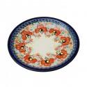 "Polish Pottery CHAMPAGNE 9.75"" Stoneware Luncheon-Dinner Plate | UNIKAT"