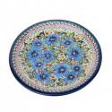 Polish Pottery DREAMLAND 9.75 Luncheon-Dinner Stoneware Plate | EX-UNIKAT
