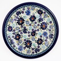 "Polish Pottery 4TH OF JULY 9.75"" Luncheon-Dinner Stoneware Plate 