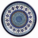 "Polish Pottery SWEETIE PIE 9.75"" Luncheon-Dinner Stoneware Plate 