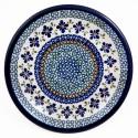 "Polish Pottery SWEETIE PIE 9.75"" Luncheon-Dinner Stoneware Plate | ARTISAN"
