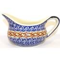 Polish Pottery CUBA 2-Cup Stoneware Gravy Boat | CLASSIC