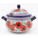 POLISH POTTERY STONEWARE BELLISSIMA |Soup Tureen