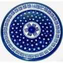 "Polish Pottery ATLANTIS 11"" Stoneware Dinner Plate | CLASSIC"