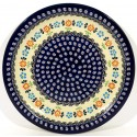POLISH STONEWARE HERITAGE DINNER PLATE | CLASSIC