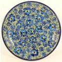 "Polish Pottery BLUE LAGOON 7.75"" Stoneware Salad Plate | UNIKAT"