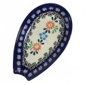 POLISH POTTERY STONEWARE SPOON REST | Heritage