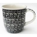Polish Pottery ELEGANT TIMES 12-oz Stoneware Mug | CLASSIC