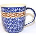 Polish Pottery CUBA 12-oz Stoneware Mug | CLASSIC