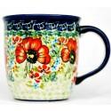 Polish Pottery CHAMPAGNE 12-oz Stoneware Mug | UNIKAT